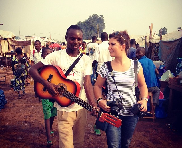 Camille Lepage en Centrafrique